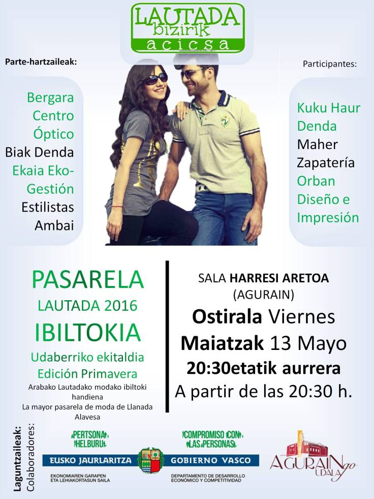 Pasarela Lautada 2016 Edición Primavera ACICSA