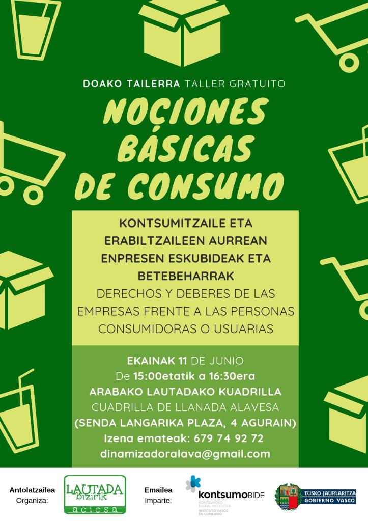 Nociones básicas de consumo