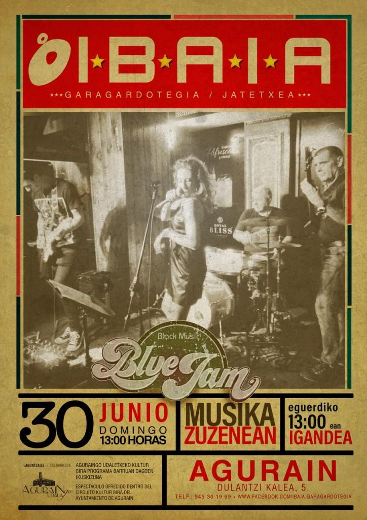 Blue Jam Ibaia Garagardotegia