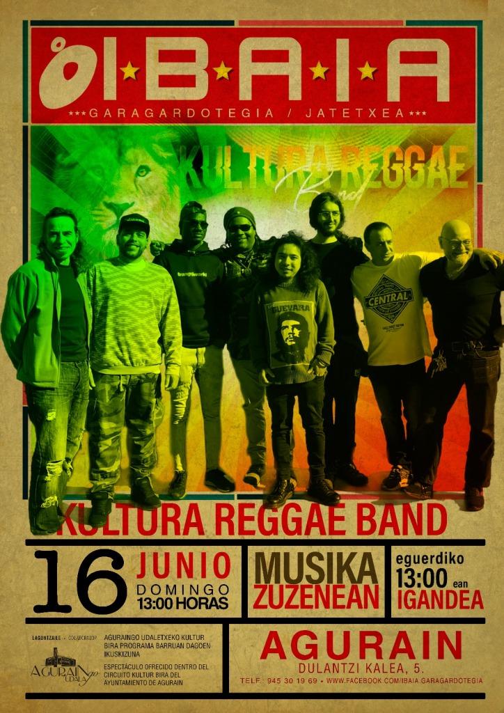 Kultura Reggae Band Ibaia Garagardotegia Agurain